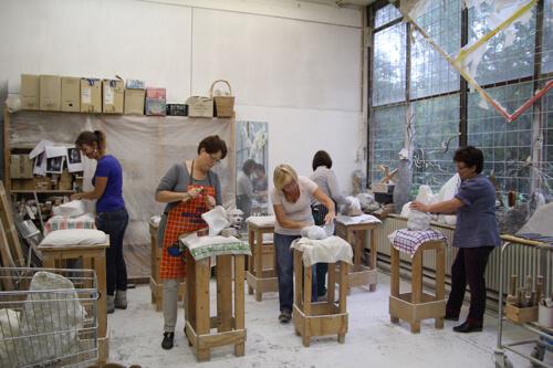 500 Vlampijpateliers - Vivienne Doeland Atelier Avalon - foto Lou Vos